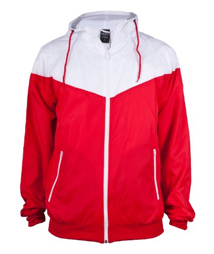 "Urban : ""Arrow Windrunner"" Size: L, Color: red-white …TB148"