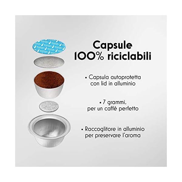Bialetti Break - Macchina Caffè Espresso a Capsule in Alluminio con sistema Bialetti il Caffè d'Italia, Design compatto… 7