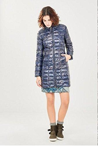 Amazon Surkana Multicolore it Blu Abbigliamento Donna Cappotto Xl qqXZT7w