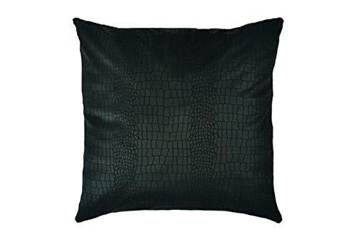 Black pillow,decorative pillow,piloow cover,throw pillow cover,Any Size,accent pillow,home decor,cushion cover,snake pattern,pillow case,cotton pillow,housewares,hand made pillow,pillow - Housewares Decorative Pillow