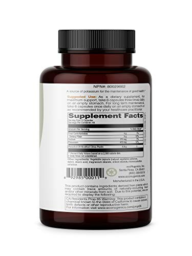 ecoNugenics – PectaSol-C Modified Citrus Pectin – 270 Capsules | Professionally Formulated to Help Maintain Healthy Galectin-3 Levels | Supports Cellular & Immune System Health | Safe & Natural by EcoNugenics (Image #1)