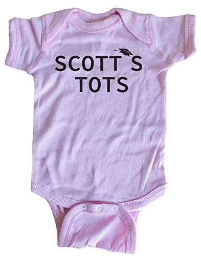(Scott's Tots The Office Baby One Piece (6 Month, Pink))