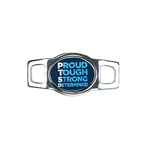 Paracord Planet Military Service Member Charms for Paracord Bracelets and Shoelaces (Proud, Tough, Strong, Determined)