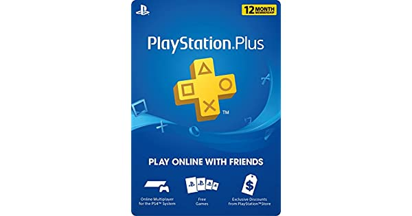 Amazon.com: PlayStation Plus: 12 Month Membership [Digital ...