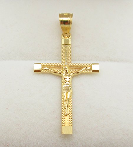 10k gold cross pendant gold crucifix charm lifestyle updated 10k gold cross pendant gold crucifix charm aloadofball Image collections