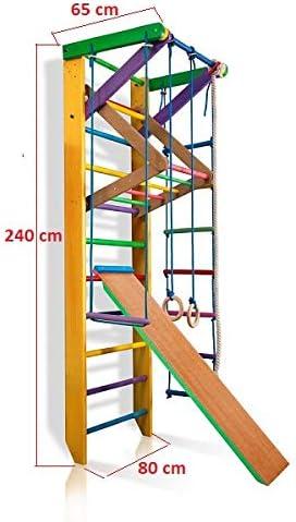 Barras de Pared para escaleras suecas, para Deportes, Gimnasia en casa, Gimnasia para niños, Complejo Deportivo de Gimnasia: Amazon.es: Deportes y aire libre
