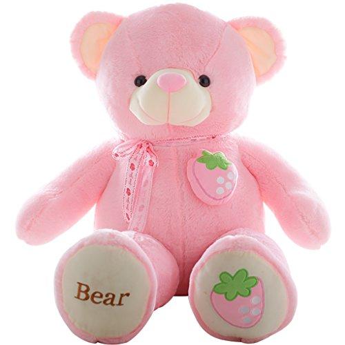 Stuffed Animal Teddy Bear Plush Soft Toy 100CM Huge Soft Toy Pink - 9