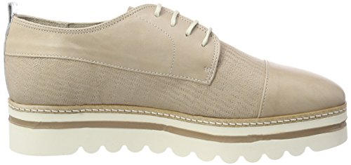 de Zapatos Up Mujer Lace Oxford O'Polo Shoe Gris para Cordones Taupe Marc x61UXqOFwc