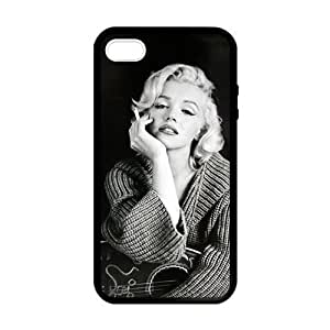 SUUER Rubber Silicone Custom Marilyn Monroe Skin Personalized Custom Rubber Tpu CASE for iPhone 5 5s Durable Case Cover Kimberly Kurzendoerfer