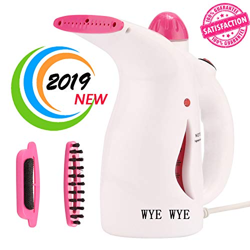 WYEWYE Clothes Steamer, Handheld Steamer for Garment,Powerful Multi Use-Remove Wrinkles/Clean/Sterilize/Sanitize/Refresh/Treat/Defrost, Automatic Shut-Off Safety Protection,Perfect for Home and Travel