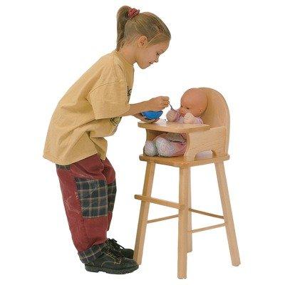Maple Doll High Chair by J.B. Poitras