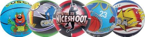 Cosco Basket Balls Multi Graphics, Size 3
