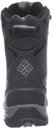 Columbia Men's Bugaboot Plus II Omni-Heat Snow Boot,Black/Charcoal,10 M US
