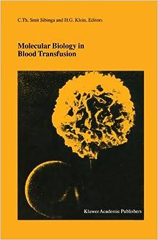 Descargar Con Utorrent Molecular Biology In Blood Transfusion Kindle Lee Epub