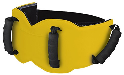 Grip-n-Ride Solid unisex-adult Passenger Safety Belt (Yellow,Standard: 28'' to 54'')