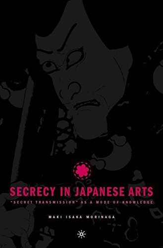 """Read Online Secrecy in Japanese Arts: """"Secret Transmission"""" as a Mode of Knowledge pdf"""