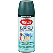 Krylon K02424001 Fusion for Plastic Spray Paint, Satin Hunter Green
