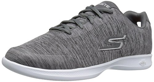Skechers Go Step Lite Beam Mujer US 7.5 Gris Zapato para Correr