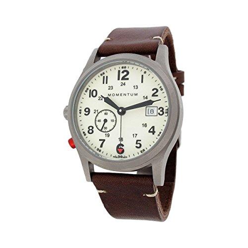 Momentum Men's 1M-SP60L2C Pathfinder III Analog Display Swiss Quartz Brown Watch