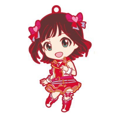 Nendoroid Plus rubber strap The Idolmaster One For All 765PRO ALLSTARS stage A [1. Haruka Amami] (single)
