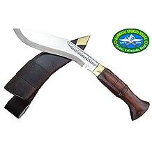 "6"" Blade Super Mini Jungle Kukri - Authentic Gurkha Khukuri - Sports, Camping,Hiking Handmade Knife"
