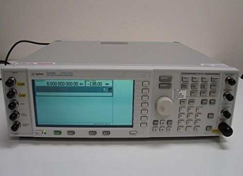 (Agilent E4438C 250KHz-3GHz Vector Signal Generator Options 002/005/1E5/400/401/402/404/419/503)