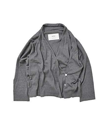 (ユティリテ) utilite コットンシルク7分袖ドレープカーディガン utk1801-02
