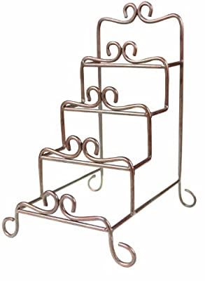 Amazon.com Manual Metal Tiered Plate Racks Mini Set of 2 Home u0026 Kitchen  sc 1 st  Amazon.com & Amazon.com: Manual Metal Tiered Plate Racks Mini Set of 2: Home ...