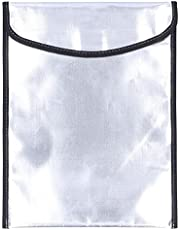 Fireproof Safe Bag,34x26cm Fireproof Document Bag Pouch Large Capacity Waterproof Portable File Money Bag