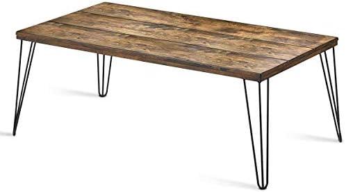 Giantex Rustic Coffee Table
