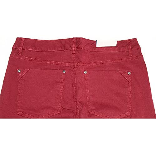 Bandolino Karyn Womens Size 16 Boyfriend Jeans, Dark Cabernet low ...