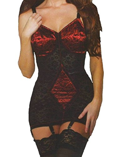 10d4d395ce7 Rago 9357 Open Bottom All-in-one Body Briefer