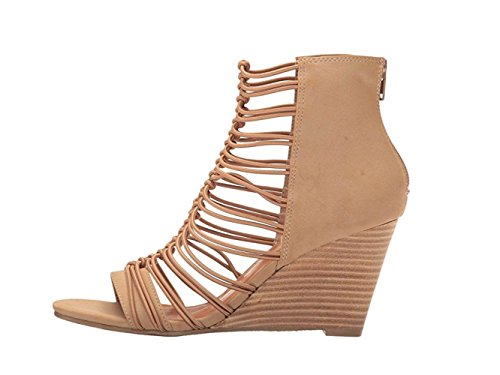 Wedge by Matisse Taupe Coconuts Sandals Parade Women's Stacked 5XSpqSw