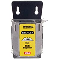 100-Pack Stanley 1992 Steel Heavy Duty Utility Knife Blade Dispenser with Blades