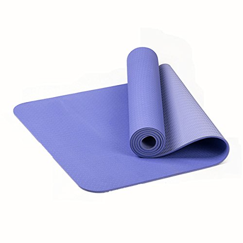 Bluelover TPE Bicolor 6Mm Yoga Mat Outdooors Fitness Deporte ...