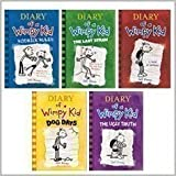 img - for Diary of a Wimpy Kid 5 Book Set: Diary of a Wimpy Kid, Rodrick Rules, The Last Straw, Dog Days, The Ugly Truth (Diary of a Wimpy Kid, 1-5) book / textbook / text book