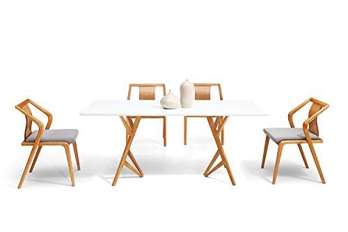 Dewarens Table De Salle à Manger Design Scandinave Vispa Amazonfr