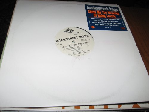 Show Me the Meaning of Being Lonely - Vinyl Records Backstreet Boys