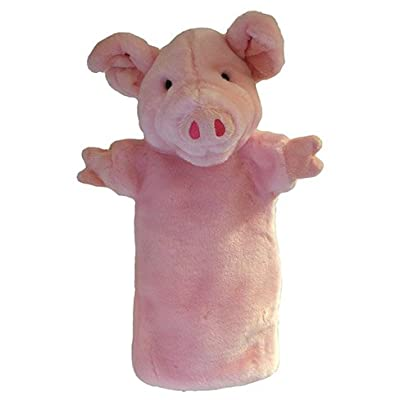 The Puppet Company Long-Sleeves Pig Hand Puppet: Toys & Games