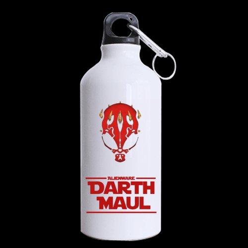 Darth Maul Theme Custom Sports Water Bottle Aluminum 13.5 Ounce -