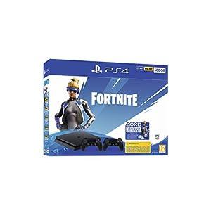 Playstation 4 (PS4) – Consola 500 Gb + 2 Mandos Dual Shock 4 + Contenido Fortnite (Edición Exclusiva Amazon) 41LZG4x7BQL