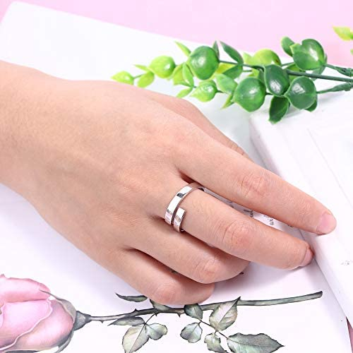 Fille//Femme Argent Sterling 925 Sailor Anchor Ouvert Bague//Joint//Toe Ring Taille 5.5