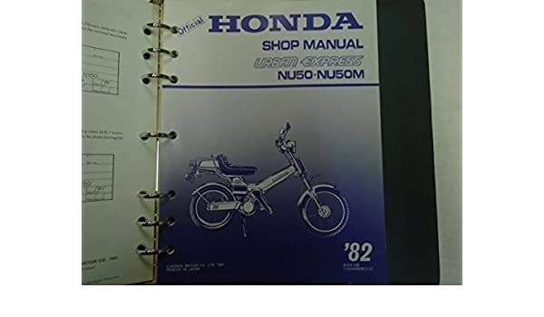 honda urban express manual