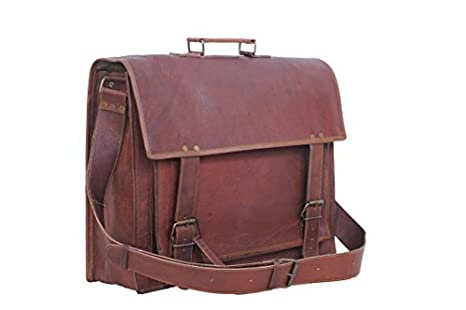 Image Unavailable. Image not available for. Colour  Passion Leather Retro  Mens 16 Inch Leather Briefcase Messenger Laptop ... 81b13ab2a76f1