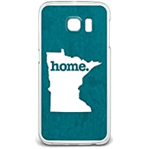 Minnesota MN Home State Case for Samsung Galaxy S6 Edge - Textured Turquoise