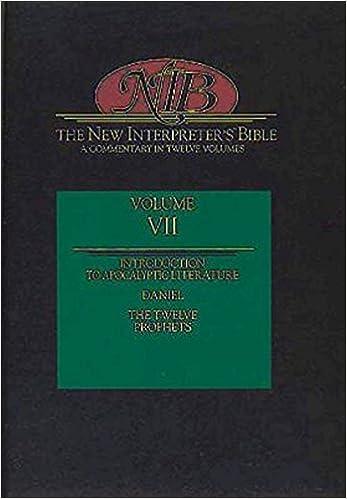 The New Interpreter's Bible: The Twelve Prophets (Volume 7