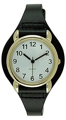 Moulin Womens Slender Strap Black Watch #13591.72079