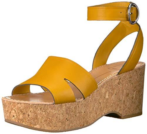 - Dolce Vita Women's Linda Wedge Sandal honey leather 8 M US