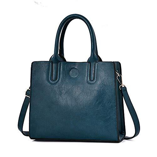 Señoras Bolsos De Hombro Blue color Tamaño Moda Bolso Eeayyygch Las Gules bolso Color Del 29x12x25cm 8HqxCCw