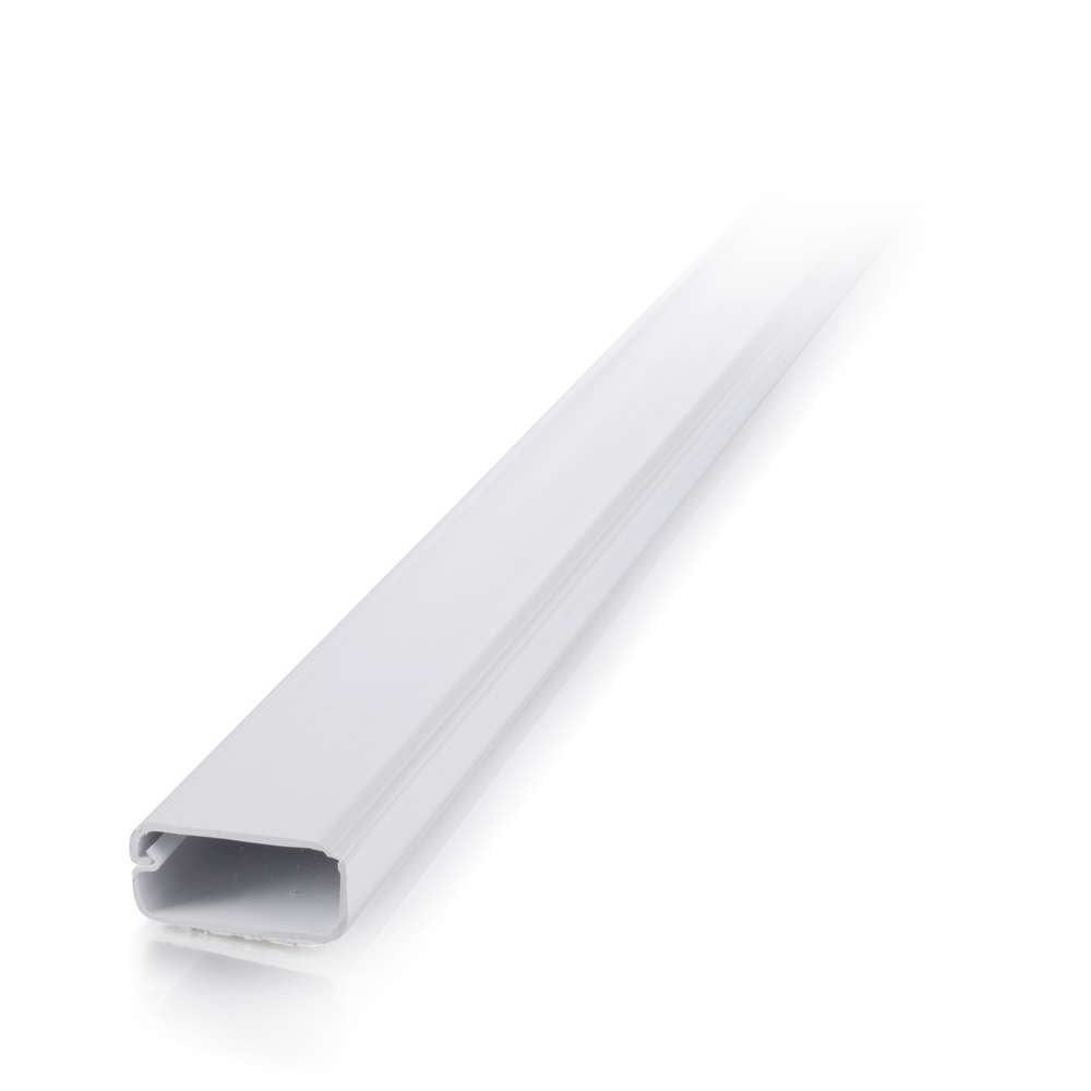 C2g Cables To Go 16079 Wiremold Uniduct 2900 White 6 Legrand 5 Ft Non Metallic Hinged Cord Cover Feet 20 Pack Computers Accessories